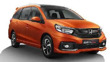 India Bound 2017 Honda Mobilio And Mobilio Rs Facelift Images